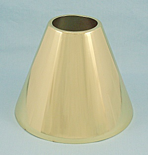Aluminum Lamp Shade, Gold Color (Image1)