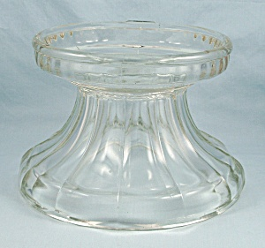 Punch Bowl Stand/base - Colonial Panel, Indiana Glass
