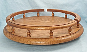 Oak - Lazy Susan, Side Rails