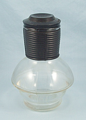 Glasbake -  Hottle, Original Black Lid	 (Image1)