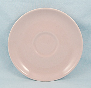 Iroquois, Russel Wright - Casual Pink, Saucer