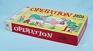 Operation Game, Smoking Doctor, Version A, Milton Bradley, 1965