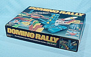 Domino Rally Deluxe, 266 Dominoes Set, Pressman, 1989