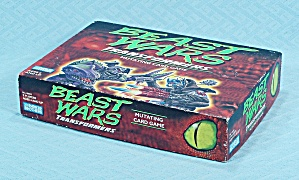 Beast Wars, Transformers, Mutating Card Game, Parker Brothers, 1997
