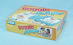 Boggle Junior Game, Parker Brothers, 1988