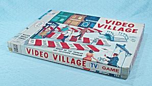 Video Village Game, Milton Bradley, 1960 (Image1)