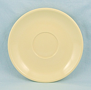 Melmac – Boonton Ware – Yellow Saucer (Image1)