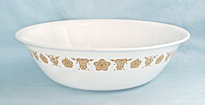 Corelle, Butterfly Gold, 10-Inch Round Vegetable Bowl (Image1)