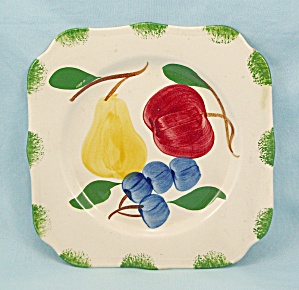 Blue Ridge - Square Plate - Bread / Dessert Size