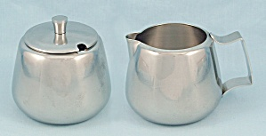 Raimond - Stainless - Creamer & Sugar