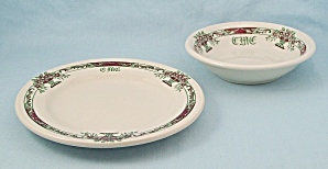 Arlane - Bowl , B&b Plate - 1953 Mayer China