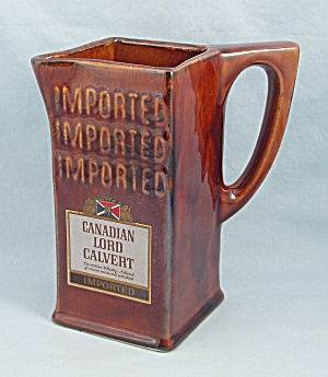 Canadian Lord Calvert - Brown Pitcher