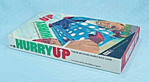 Hurry Up Game, Parker Brothers, 1971