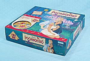 Disney's Pocahontas, The Talking Board Game, Parker Brothers, 1994