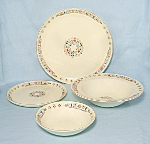 Pan American - 4 Pieces Place Setting, Cavitt-shaw/ W.s. George