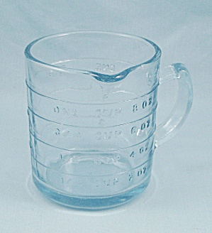 Fire King, Sapphire Blue – Measuring Cup, One Spout (Image1)