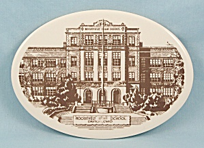Roosevelt High School - Photo Tile - Dayton, Ohio