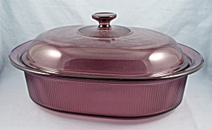 Cranberry Visions, Dutch Oven, V 34 B, 4 Quart Oval Roaster