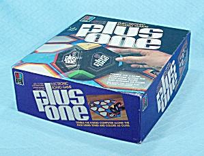 Plus One Electronic Board Game, Milton Bradley, 1980 (Image1)