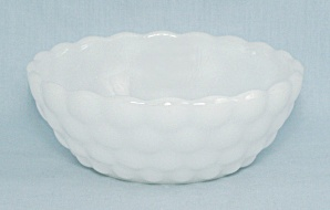 Dip Replacement Bowl For Chip N Dip Set - Bubble - Milk Glass