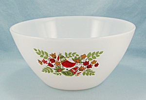 Arcopal France - French Hens - Mixing Bowl, Splash Proof Shape