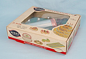Mirro - Cake Decorator Set M-0360 - Original Box