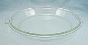Vintage Pyrex, 686 C, Pie Plate Shaped Utility Lid (Image1)