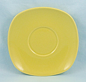 Metlox, Poppytrail Shoreline-Chartreuse Saucer	 (Image1)
