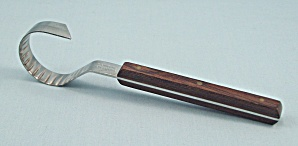 Econome, Inox - France - Chocolate & Butter Curler, Wood Handle