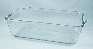 Fire King Glass – Sapphire Blue, Loaf Pan (Image1)