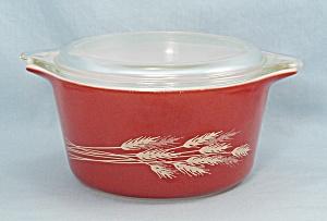 Pyrex 473 B – Bake, Store, Casserole &, Lid –Autumn Harvest  (Image1)