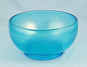 Azure / Blue Iridescent Bowl