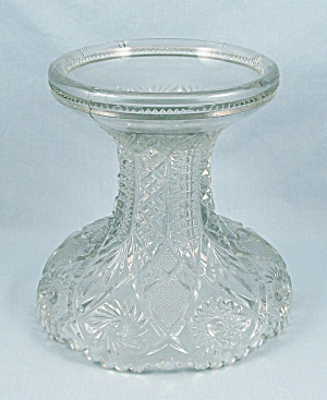 Twins Clear, Imperial Glass - Large Fruit Bowl Base/ Stand