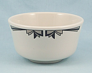 Lamberton - Sterling China - Custard Bowl, Art Deco Design