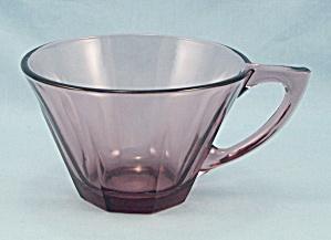Moroccan Amethyst Cup, Octagonal Shaped, Hazel Atlas (Image1)