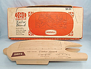Scovill Dritz Tailor Board No 520, June Tailor Method, Original Box