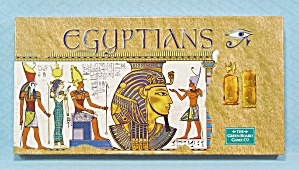 Egyptions Game, Green Board, 2001, Nib