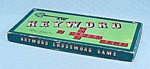 Keyword, A Crossword Game, Parker Brothers, 1953