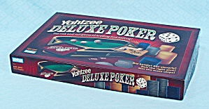 Yahtzee Deluxe Poker Game, Parker Brothers, 2005