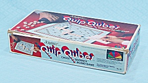 Quip Cubes Game, Sechow & Righter, 1981