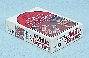 Mille Bornes, Vintage French Card Game, Parker Brothers, 1971