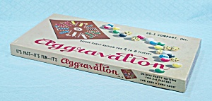 Aggravation, Deluxe Party Editon Game, CO-5 Company, Vintage (Image1)