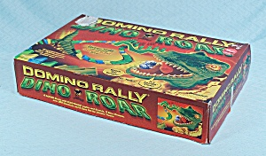 Domino Rally Dino Roar Set, Pressman, 2002