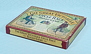 The Great Victorian Cycle Race Board Game, Made in England (Image1)