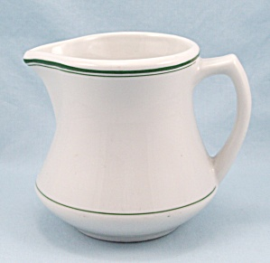 Mcnicol Milk Pitcher, 24 Oz. - Green Lines