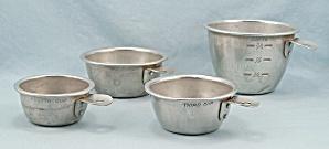 4 - Aluminum Measuring Cups, Nesting (Image1)