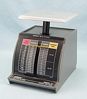 Pelouze, 16 Ounce - 1999 Postal Scale, Model X1  (Image1)