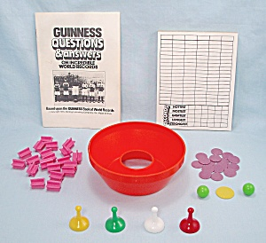 Guinness Game Of World Records, Parker Brothers, 1975, Replacement Playing Parts