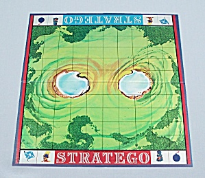 Vintage 1977 Stratego Red #7 Sergeant Army Piece Classic Board Game Replacement