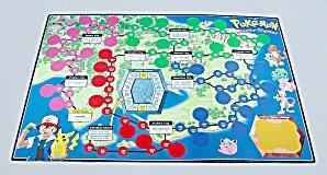 Pokémon Master Trainer Game, Milton Bradley, 1999, Replacement Game Board (Image1)